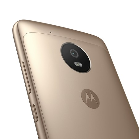 Moto G5 Fine Gold Back Detail