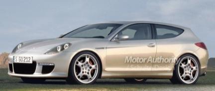 Otra recreación del Porsche compacto