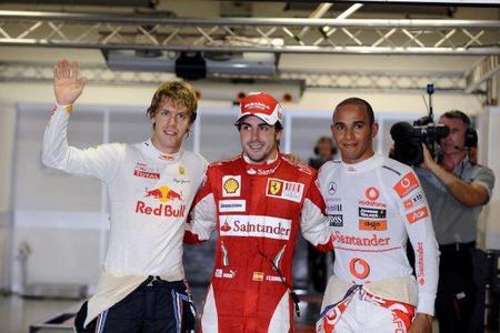Fernando Alonso, pole en el Gran Premio de Singapur