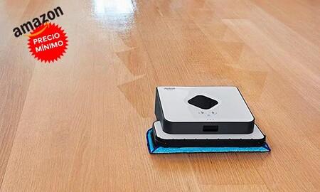 Pasa de fregar y pasar la mopa con el Braava 390t de iRobot: ahora a precio mínimo en Amazon por sólo 149 euros