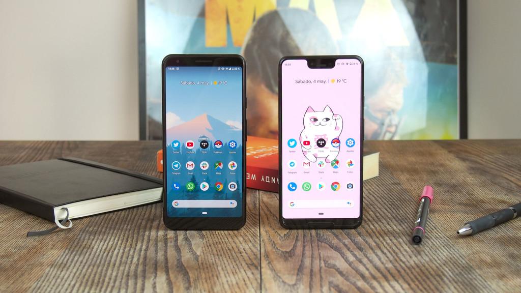Google Pixel 3a XL vs Pixel tres XL, comparativa a fondo: qué se pierde y qué no si compras el Pixel barato