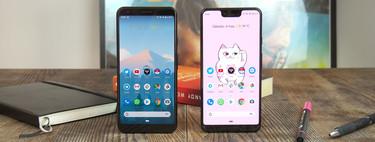 Google Pixel 3a XL vs Pixel 3 XL, comparativa a fondo: qué se pierde y qué no si compras el Pixel barato