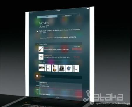 iOS 8 widgets