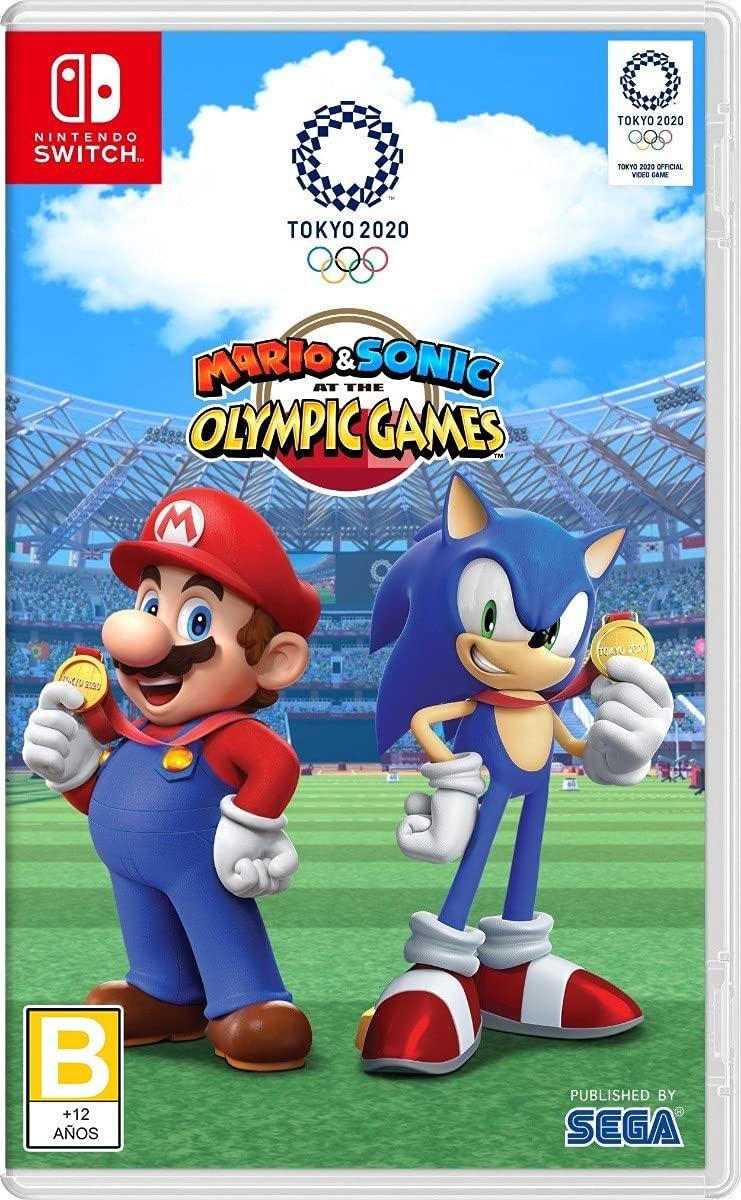 Mario y Sonic en los Juegos Olímpicos Tokyo 2020 - Nintendo Switch