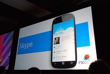 Llega Skype 1.0 para Windows Phone