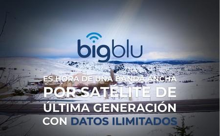 La nueva conexión a Internet por satélite de bigblu se convierte en la ilimitada más barata