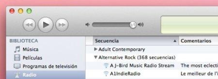 Como realizar búsquedas en las emisoras de radio de iTunes