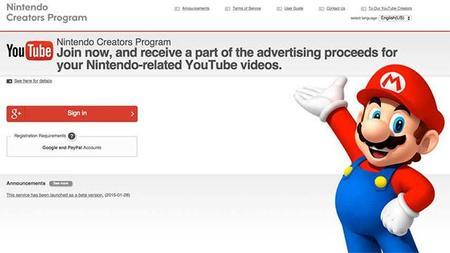 Nintendo tiene problemas para procesar las solicitudes de su programa de ingresos de Youtube