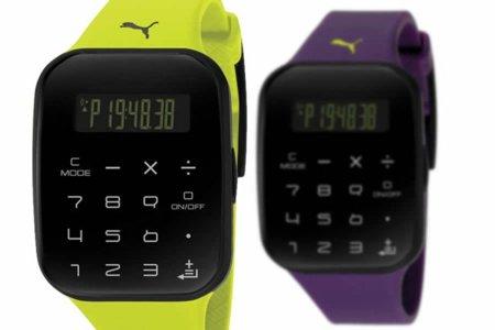 Puma Calculus: la versión deportiva del reloj calculadora