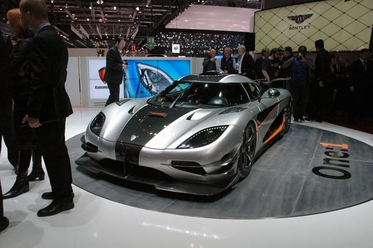 Auto Show de Ginebra 2014: Koenigsegg One:1 (1/6)