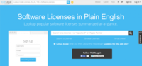 TLDRLegal, entendiendo las licencias de software libre de forma sencilla