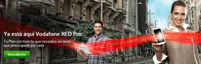 Tarifas Base Pro y RED Pro para autónomos y empresas Vodafone