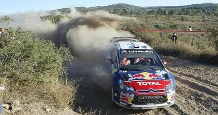 Sébastien Loeb comienza en Argentina con el mejor tiempo