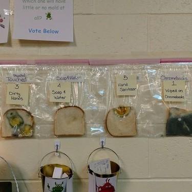 El experimento viral de una profesora que nos muestra la importancia de enseñar a los niños a lavarse las manos adecuadamente