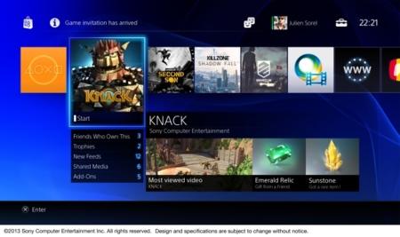 PS4: así es su interfaz centrada en lo social