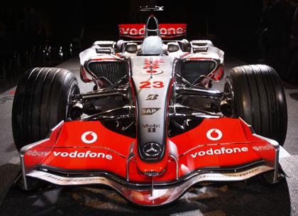 Imágenes y datos del nuevo McLaren MP4-23
