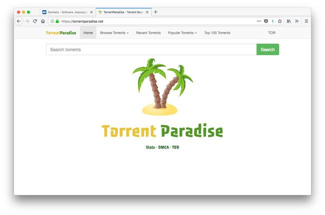 TorrentParadise, un buscador alternativo con más de 2 millones de torrents indexados