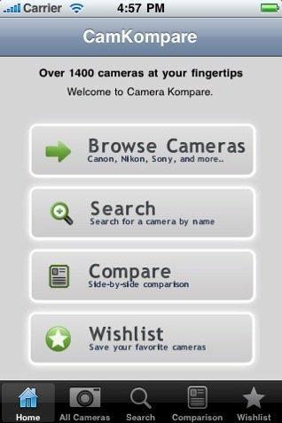 kamera compare