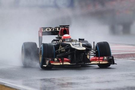 Romain Grosjean marca el mejor tiempo del día