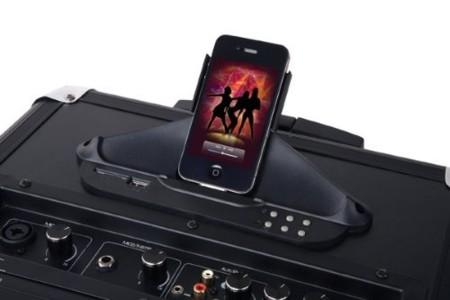 Black Panther City Street Mix One Station, base para dispositivos iOS con 100w de potencia
