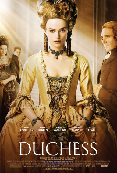 'The Duchess', póster y nuevo trailer