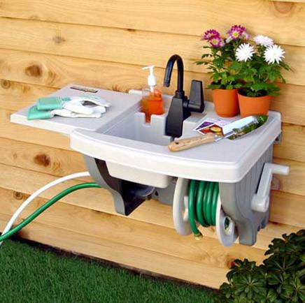 tres inspiradoras ideas para colocar un fregadero en el jard n ForFregaderos Para Jardin