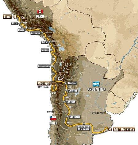 Dakar 2012: el recorrido más africano de la etapa sudamericana