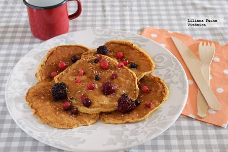 Desayunos Saludables Cole Tortitas Calabaza Avena