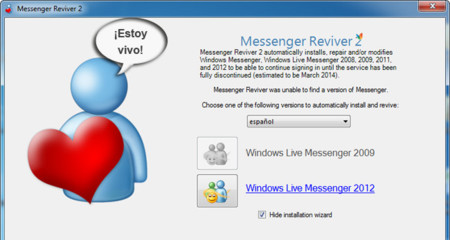 Messenger Reviver, es posible volver a usar Windows Live Messenger
