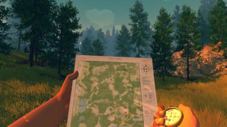 Firewatch ya no tiene pérdida desde que Campo Santo ofrece estos mapas imprimibles de sus bosques