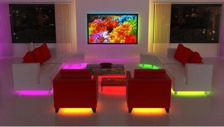 Ambientes iluminados con LEDs