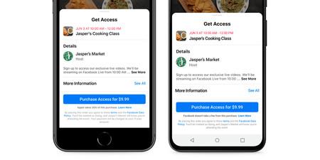 Actualizacion App Facebook Ios Android