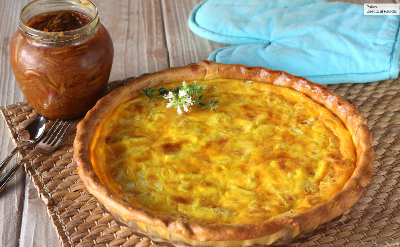Tarta de queso brie, la mejor receta de entrante para compartir