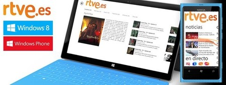 Televisión a la carta con Rtve.es y RTVE Clan para Windows 8.1