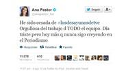 Ana Pastor cesada de 'Los Desayunos de TVE' por Julio Somoano