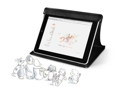 HigHtecH iPad Station, la funda y soporte para iPad de Hermès
