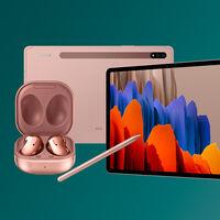 La potente tableta Samsung Galaxy Tab S7 tiene regalo en Amazon: por 599 euros con los auriculares sin cables Galaxy Buds Live