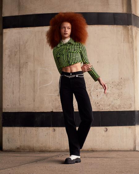 Bershka Tweed Colour 8