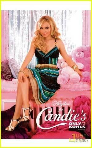 Hayden Panettiere para Candie's