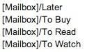 mailbox etiquetas gmail
