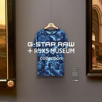 G-Star Raw llenará tu armario de arte gracias a  su colaboración con el Rijks Museum
