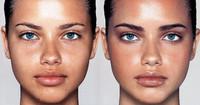 La magia del maquillaje en las modelos: el antes y el después