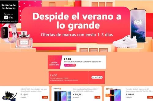 Semana de las marcas en AliExpress: las mejores ofertas en tecnología y hogar