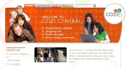Cozi, herramienta para la cooperación entre miembros de una familia