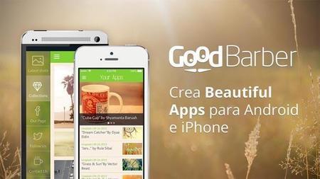 GoodBarber para crear una app desde cero y sin saber código