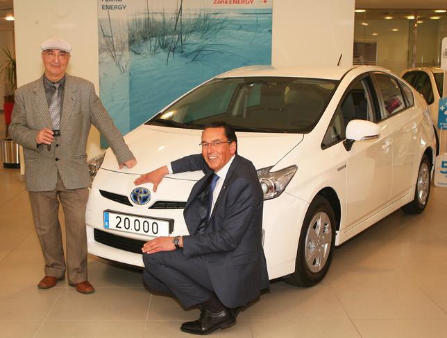 Toyota híbrido número 20.000 en España