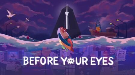 Así es Before Your Eyes, una experiencia de lo más original en la que el tiempo solo avanzará con los parpadeos reales de los jugadores