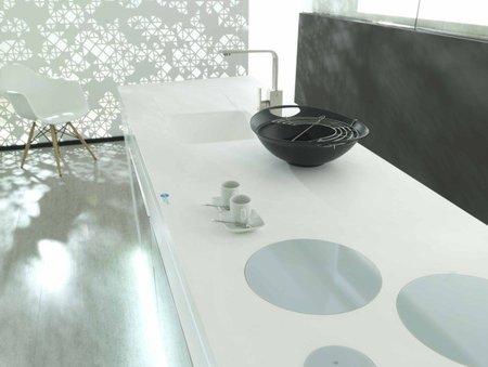 Krion, el compacto sintético de Porcelanosa