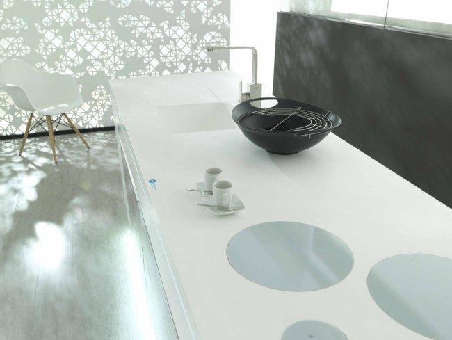 encimera de cocina krion de Porcelanosa