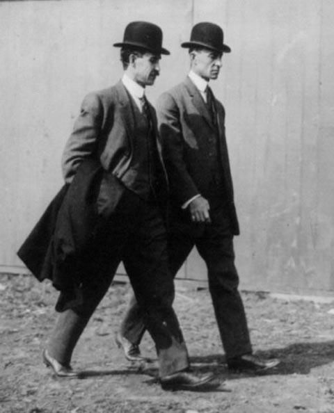 Los hermanos Wright, los pioneros de la aviación mundial